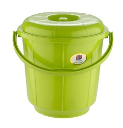 Plastic Handle Bathroom Bucket 11 Ltr