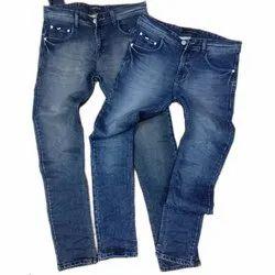 Denim Casual Wear Mens Fancy Jeans, Waist Size: 30