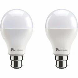 Ceramic Round 15 Watt LED Bulb
