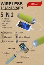 Wireless Speakers With Power Bank