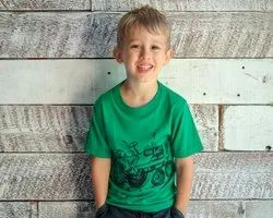 Kids Bamboo T Shirts