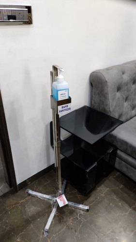 SS HAND SANITIZER STAND