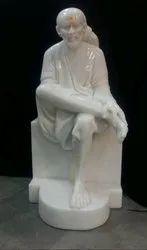 Shirdi Sai Baba Marble Murti