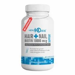 Hair and Nail Supplement Capsules for Hair Growth