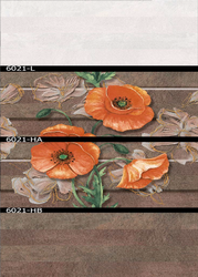 6021 (L, HA, HB) Hexa Ceramic Tiles Matt Series