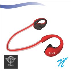 TROVO BLUETOOTH NECKBAND WITH LIGHT