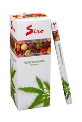 Wild Cannabis Square Incense Stick