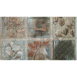 Ceramic Designing Wall Tile, Thickness: 6 - 8 mm