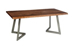 Awesome Dimensions: 48*30*30 Live Edge Dinning Table