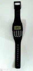 VIZIO BLACK Sport Calculator KK- 907 Digital Watch - For Men & Women, Model Name/Number: Kk-907