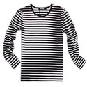 Mens Cotton Striped Full Sleeves T-shirt, Size: S To Xl