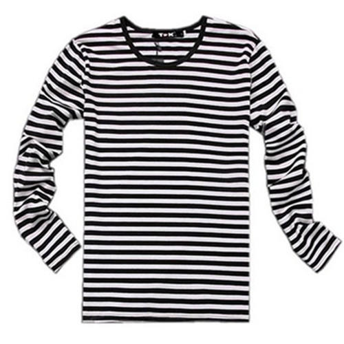 6eb8ccced846 Mens Cotton Striped Full Sleeves T-Shirt, Size: S To XL, Rs 75 ...