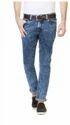 Men Slim Fit Van Heusen Blue Jeans Vddn516d03480, Waist Size: 38