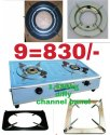 Two Burner Stainless Steel Gas Stove, Model Name/number: Dbv2.8sb