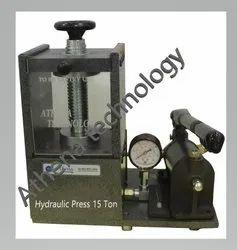 15 Ton Manual Hydraulic Laboratory Presses