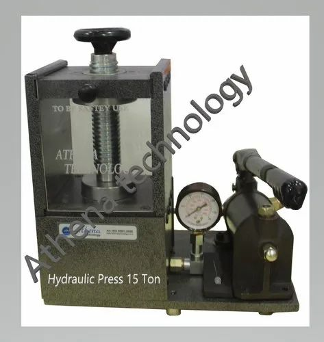 15 Ton Manual Hydraulic Laboratory Presses