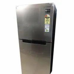 Silver Double Door Samsung Electric Refrigerator