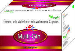 Ginseng with Multivitamin with Multimineral Capsules