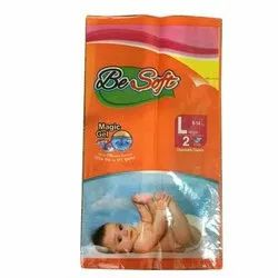 Cotton Disposable Baby Diapers, Age Group: 1 - 3 Years, Size: Large