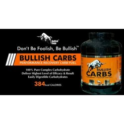 Bullish Supp Bullish Carbs, Packaging Type: Bottle ,Powder