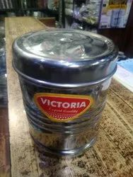 Victoria long stainless Steel Box