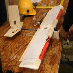 Fiber Glass RC Plane