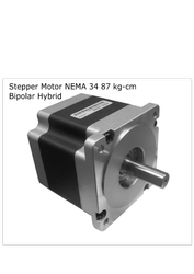 Stepper Motor NEMA 34 87 kg-cm Hybrid Bipolar  -  Robocraze