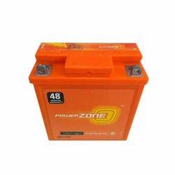 Power Zone Motorcycle Battery, Capacity: 50 Ah