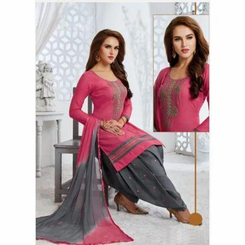 Designer Cotton Salwar Kameez Suit