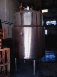 Stainless Steel Purified Water Storage Tank