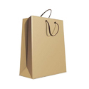 Plain Kraft Paper Carry Bag