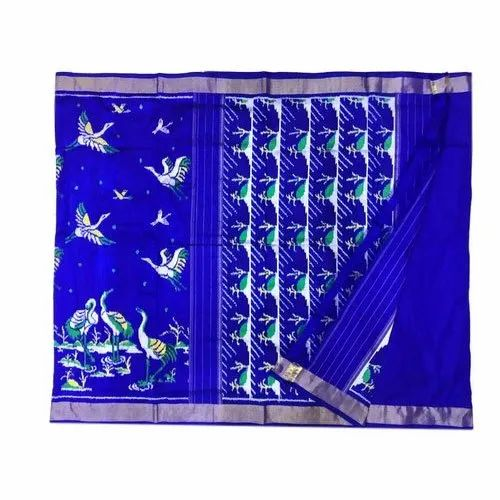 Pure Ikkat Silk Saree