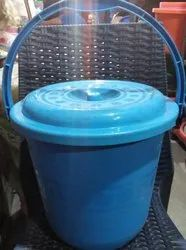 Plastic Bucket 17 Ltrs With Lid