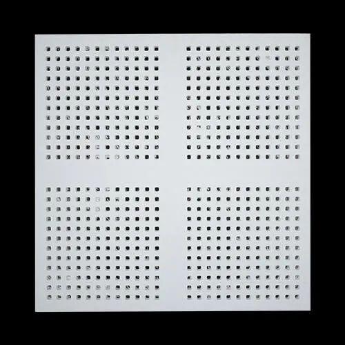 Square Semi Perforation Perforated Tiles