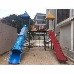 FRP Playground Slide System