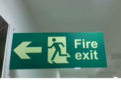 Modular Safety Signs