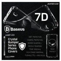Plastic Transparent Plain Mobile Cover