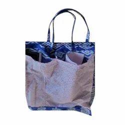 Printed Pocket Grocery Cloth Bag, Capacity: 2 - 5 Kg