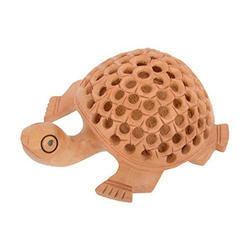 Handicraft Wooden Tortoise