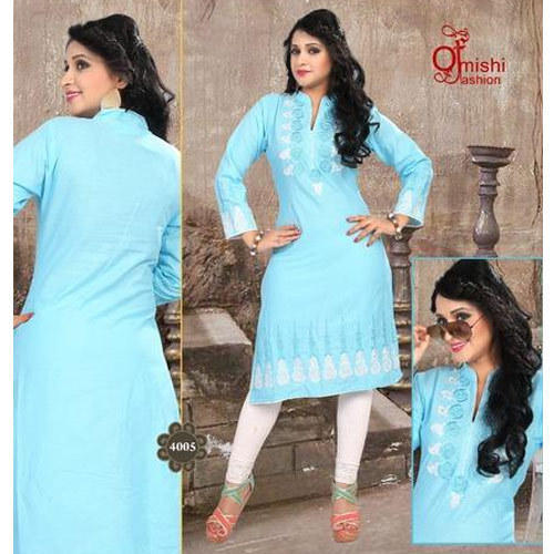 Sky Blue Ladies Suit At Rs 1500 Piece Ladies Party Wear Suit Id