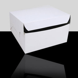 Plain White Cake Box