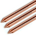 Solid Copper Earth Rod Un-Threaded