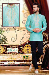 Mens Short Silk Festival Collection Indian wear