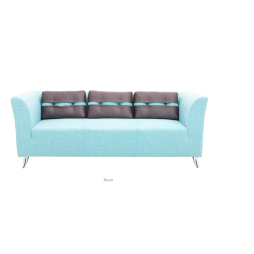 Fabric And Wooden 3 Seater Sofa, Dimensions: 71 X 31 X 26 Inch, Rs ...