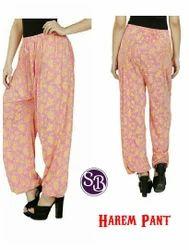 Zadine SB Printed Harem Pant