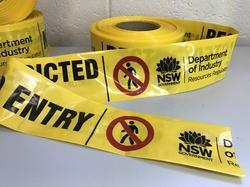 Custom Logo Caution Tape