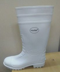 Vaultex White Gum Boot
