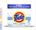 Tide Free And Gentle Powder Laundry Detergent