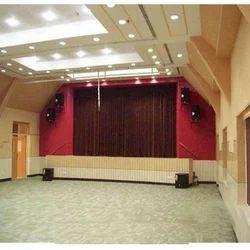 horizontal motorized curtain system