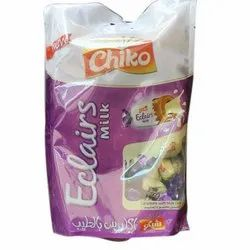 Eclairs Milk Chocolate Candy Toffee, Quantity Per Pack: 100 Piece